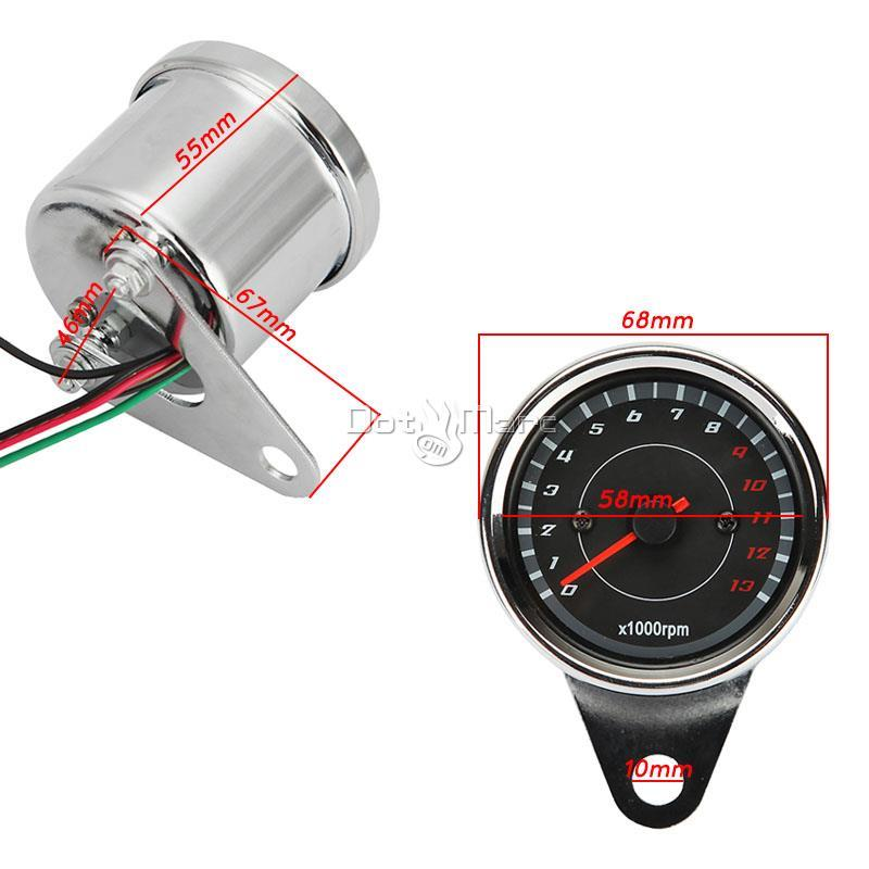 Details about LED Speedometer Odometer Tachometer for Kawasaki VN Vulcan on